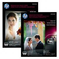 HP Premium Plus Glossy Photo Paper, foto papír, lesklý, bílý, A3, 297x420mm (A3), 300 g/m2, 20 ks, CR675A