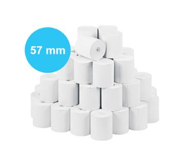 Pokladní kotouček papírový 57/35/12 (160 kusů v krabici, 60 g)