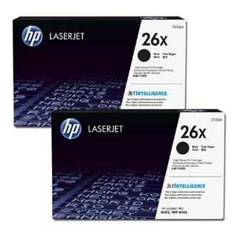 HP CF226XD - originální dvojbalení tonerů pro HP LaserJet Pro M402, Pro MFP M426 (černá, 2x 93