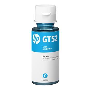 Lahev s inkoustem M0H54AE - originální, pro HP, azurová inkoustová náplň v láhvi No.GT52 pro HP DeskJet GT serie, Cronos (8 000 stran, 70 ml)