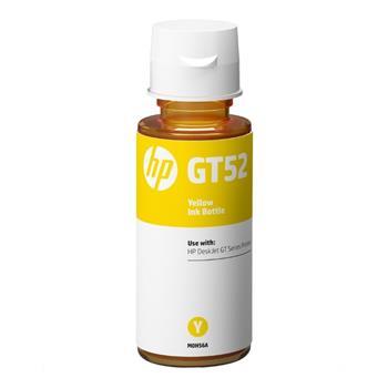 Lahev s inkoustem M0H56AE - originální, pro HP žlutá inkoustová náplň v lahvi No.GT52 pro HP DeskJet GT serie, Cronos (8 000 stran, 70 ml)