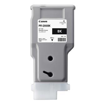 Canon 5303B001 - originální černá inkoustová náplň PFI-206BK pro Canon iPF-6400,iPF-6450 (300 ml)