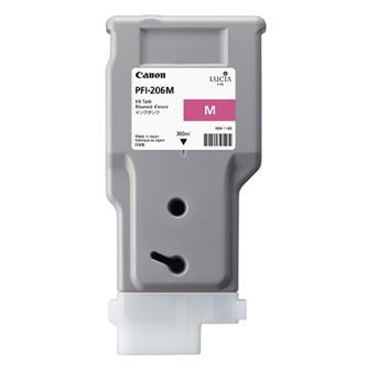 Canon 5305B001 - originální purpurová inkoustová náplň PFI-206M pro Canon iPF-6400,iPF-6450 (300 ml)