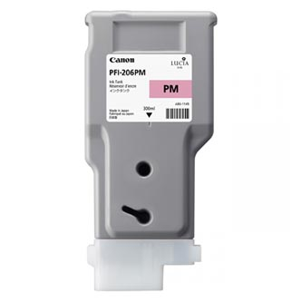 Canon 5308B001 - originální inkoustová náplň photo magenta PFI-206PM pro Canon iPF-6400,iPF-6450 (300 ml)