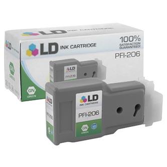Canon 5310B001 - originální inkoustová náplň green PFI-206G pro Canon iPF-6400,iPF-6450 (300 ml)