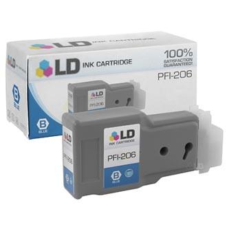 Canon 5311B001 - originální inkoustová náplň blue PFI-206B pro Canon iPF-6400,iPF-6450 (300 ml)