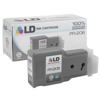 Canon 5312B001 - originální inkoustová náplň grey PFI-206GY pro Canon iPF-6400,iPF-6450 (300 ml)
