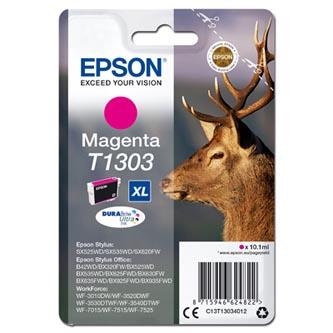Epson C13T13034012 - originální purpurová inkoustová náplň T1303XL pro Epson Stylus Office BX320FW (765 stran, 10,1 ml)