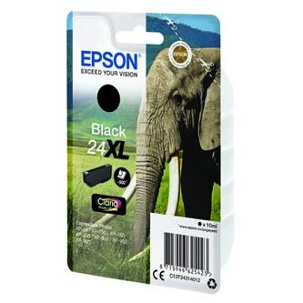 Epson C13T24314012 - originální černá náplň T2431, 10 ml