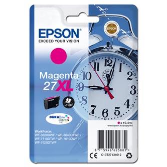 Epson C13T27134012 - originální purpurová náplň 27XL pro Epson WF-3620, 3640, 7110, 7610, 7620 (10,4 ml)