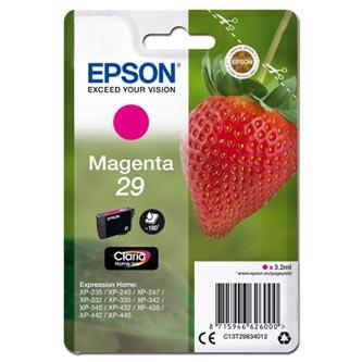 Epson C13T29834012 - originální purpurová inkoustová náplň T29 pro Epson Expression Home XP-235,XP-332,XP-335,XP-432,XP-435