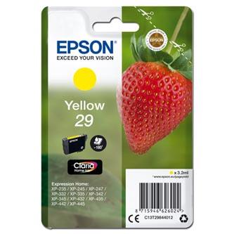 Epson C13T29844012 - originální žlutá inkoustová náplň T29 pro Epson Expression Home XP-235,XP-332,XP-335,XP-432,XP-435