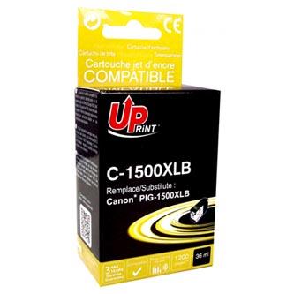 Canon C-1500XLB - kompatibilní černá inkoustová náplň PGI 1500XL pro Canon MAXIFY MB2050, MB2350 (36 ml)