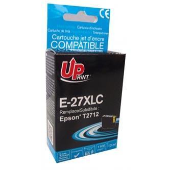Uprint C13T27124010 - kompatibilní azurová inkoustová náplň 27XL pro Epson WF-3620, 3640, 7110, 7610, 7620 (1 100 stran, 13 ml)