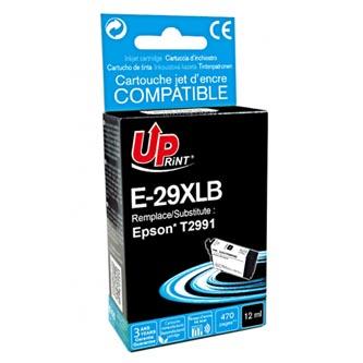 Uprint C13T29914010 - kompatibilní černá inkoustová náplň T29XL pro Epson Expression Home XP-235,XP-332,XP (470 stran, 12 ml)