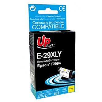 Uprint C13T29944010 - kompatibilní žlutá inkoustová náplň T29XL pro Epson Expression Home XP-235,XP-332,XP (450 stran, 7 ml)