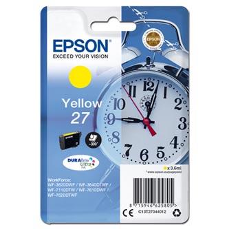 Epson C13T270440 - originální, žlutý, 3,6ml.