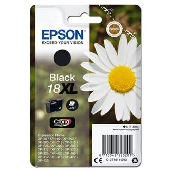 Epson C13T18114012 - Originální inkoust, černý, 11,5ml
