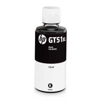 Lahev s inkoustem HP GT51XL - originální, 135 ml | černý