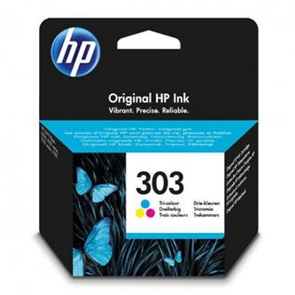 Inkoust HP 303 (T6N01AE) - originální | tříbarevný