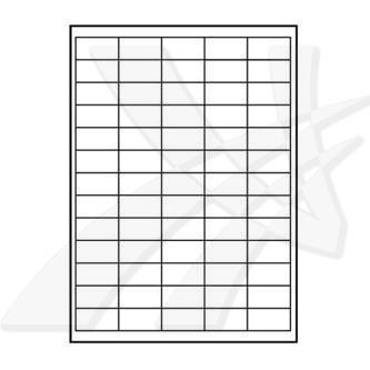 Logo 32201 - etikety 38 x 21.2 mm, A4, matné, bílé, 65 etiket, 140g/m2, baleno po 10 ks, pro inkoustové a laserové tiskárny