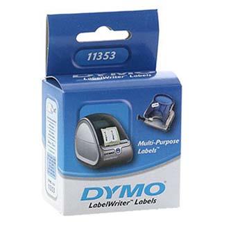 Dymo 11353 - 25mm x 13mm, bílé, 1000 etiket, S0722530
