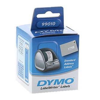 Dymo papírové štítky 89mm x 28mm, bílé, adresní, baleno po 2 ks, 99010, S0722370
