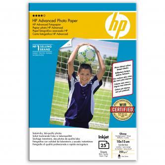 HP Photo Paper Glossy Advanced, 25 ks, 100 x 150 mm, 250 g/m2, Q8691A