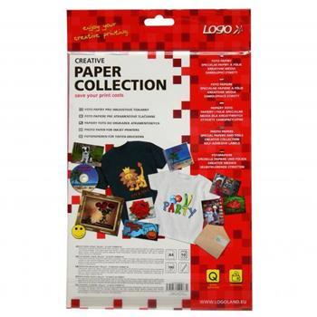 Logo 20063 foto papír, lesklý, bílý, A4, 210x297mm (A4), 180 g/m2, 1440dpi, 10 listů, inkoustový
