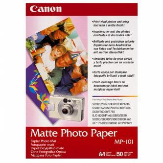 Canon 7981A005 - foropapír matný bílý, pro inkoustové tiskárny, A4, 210x297mm, 170 g/m2, 50 ks