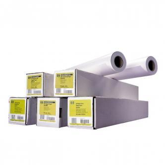 """HP 594mm/45.7m/Bright White Inkjet Paper, 594mmx45.7m, 23"""", role, Q1445A, 90 g/m2, papír, bílý, pro inkoustové tiskárny"""