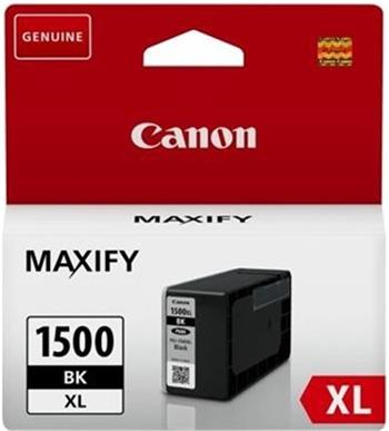 Canon PGI-1500XL BK, černý - 3 pack