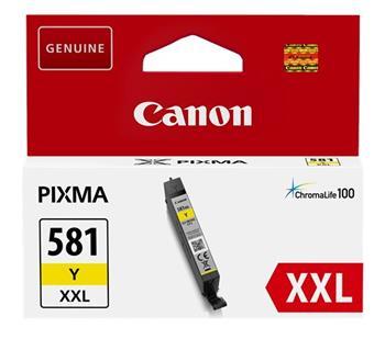 Canon 1997C001 - originální CLI-581XXL Y žlutý inkoust, objem 11,7 ml