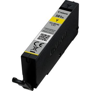 Inkoustová náplň Canon CLI-581XL Y BL SEC