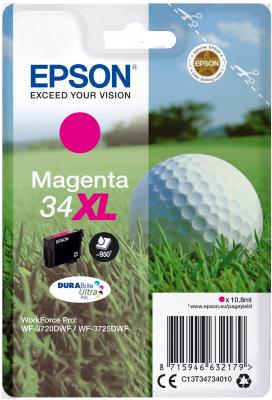 Epson C13T34734010 - originální purpurový inkoust, XL
