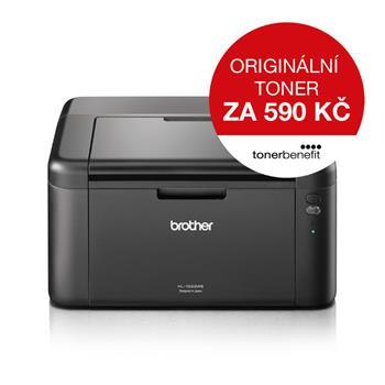Brother HL-1222WE černobílá laserová tiskárna, Toner BENEFIT