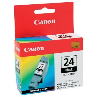 Canon 6881A002 - originální černá inkoustová náplň Canon BCI-24BK (130str)