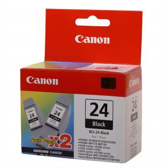 Canon BCI-24B - originální černá inkoustová náplň Canon BCI-24B - sada 2 ks