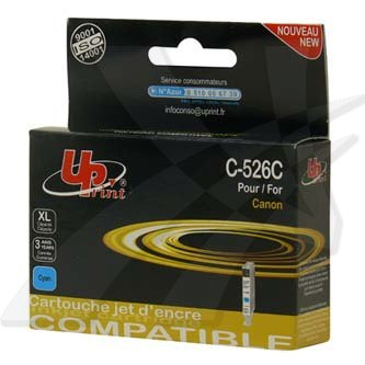 Canon CLI-526 + PGI-525 - kompatibilní (UPrint) azurový