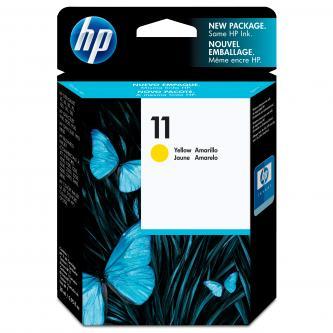 HP Ink Cart Yellow No. 11 pro HP BI 22x0, CIJ cp1700, 28 ml, C4838A