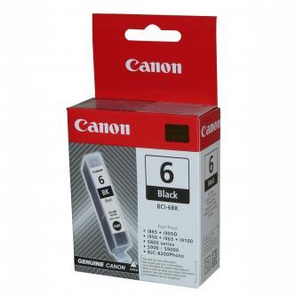 Canon BCI-6BK (BCI6BK), black, 4705A002