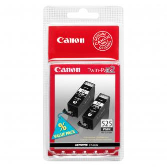 Canon PGI-525PGBK (PGI525) Twin Pack, black, 4529B010, 4529B006