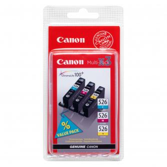 Canon CLI-526 (CLI526), CMY, cyan/magenta/yellow, 340str., 4541B009, 4541B006, Canon Pixma MG5150, MG5250, MG6150,