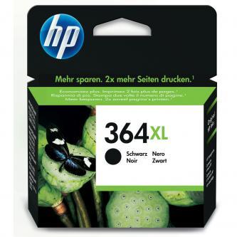 HP CN684EE, No.364XL, originální černý inkoust, 550str., 18ml, HP Photosmart e-All-in-One, Premi