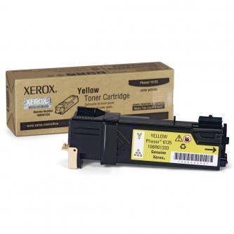 Xerox 106R01337 - originální žlutý toner pro Xerox Phaser 6125 (1.000 str)