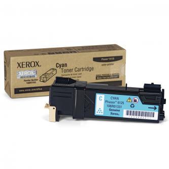 Xerox 106R01335 - originální azurový toner pro Xerox Phaser 6125 (1.000 str)
