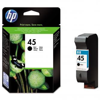HP Ink Cart Blk pro DJ7x0, 8xx, 930, 95x, 970, 990, 1x20C, 42 ml, 51645AE