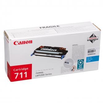 Toner Canon CRG-711C (CRG711C) originální, azurový (cyan)