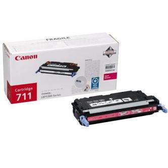 Toner Canon CRG-711M (CRG711M) originální, purpurový (magenta)