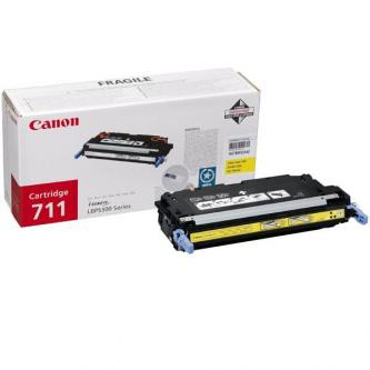 Toner Canon CRG-711Y (CRG711Y) originální, žlutý (yellow)